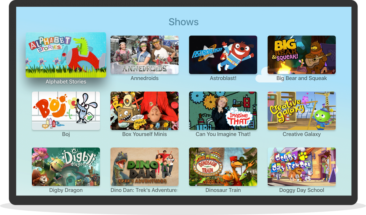 Knowledge Kids TV OS 4